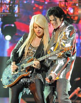 Michael Jackson And Orianthi Electric Guitars Pinterest