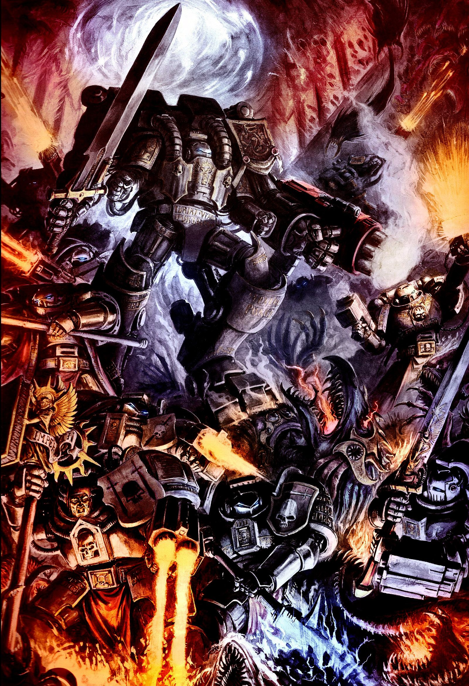 40k 30k Imperial Wallpapers The Grim Future Grey Knights Grey