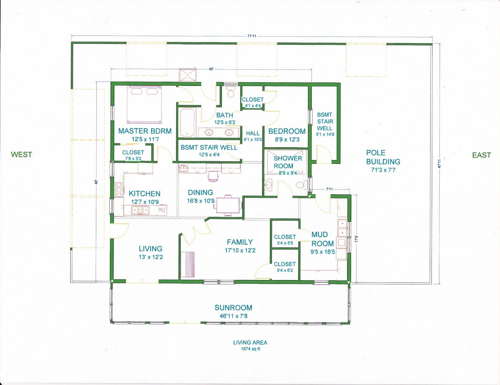 6 bedroom pole barn house free download wiring diagram for Design your own pole barn online