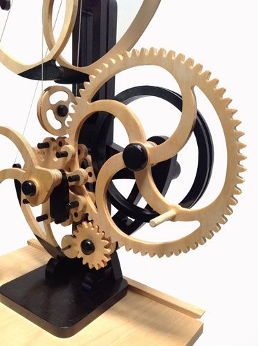Woodworking Plans by Clayton Boyer, the Whirly Kinetic