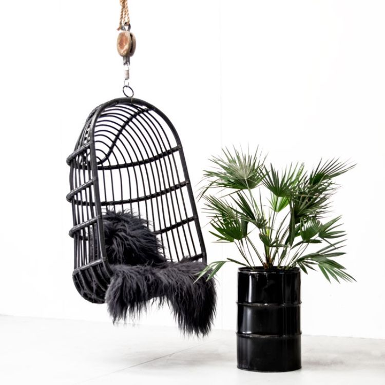 Hanging chair black the grand in 2020 hanging chair