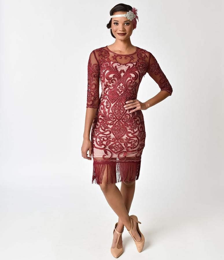 3244258340d 1920s Dresses   Flapper-Inspired Fashion – Unique Vintage