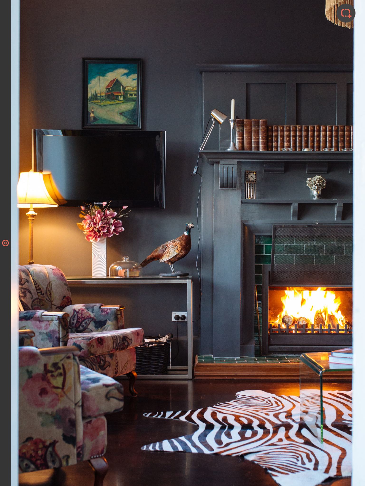 Wood Stove Living Room Design: Pin By Kathryn Allan On Living Room Ideas (With Images