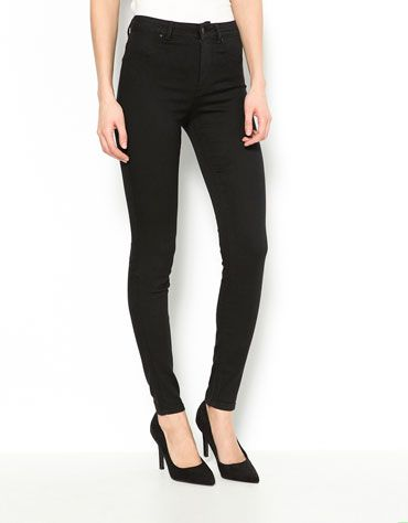 c1957a0c3ad8 Super Skinny Mid rise jeans Bershka - Woman - Bershka Macedonia ...