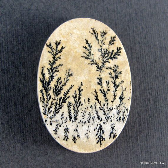 Dendritic Limestone Designer Cabochon Germany by sparklequest, $32.00