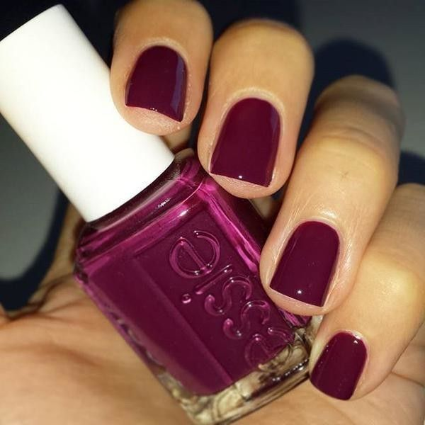 I am loving this rich, warm deep plummy tropical #beauty @essie ...