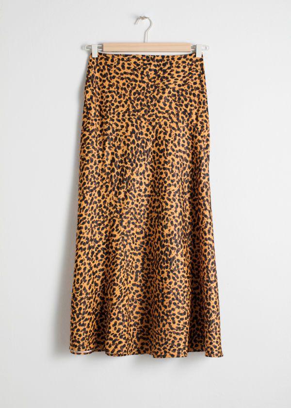Sheer Leopard Midi Dress - Leopard Print - Midi dresses -   Other Stories US 5c2db7486
