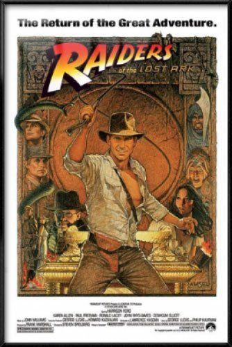 INDIANA JONES RAIDERS OF THE LOST ARK CLASSIC MOVIE POSTER 24x36-50109