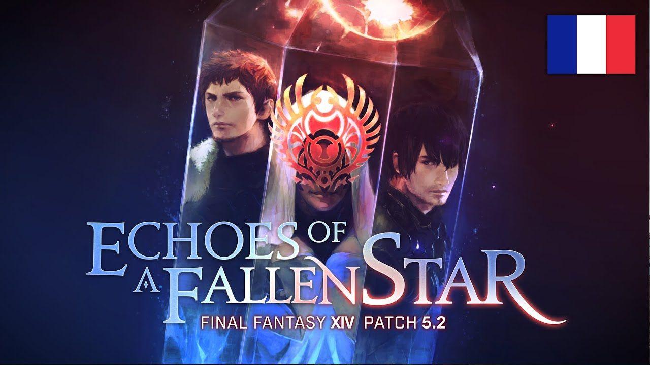 Square Enix a annoncé que la mise à jour 5.2 de Final Fantasy XIV Online, intitulée Échos d'une étoile déchue (Echoes of a Fallen Star) est désormais disponible. La dernière mise à jour du célèbre MMO propose des nouveaux défis aux Guerriers de la Lumière, non seulement dans le premier reflet, mais aussi chez eux […]  #JeuxVidéo, #PC, #PS4 #FinalFantasy, #FinalFantasyXIV, #FinalFantasyXIVOnline, #PC, #PS4, #SquareEnix