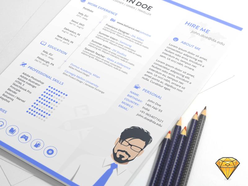 Resume Template Sketch | Template