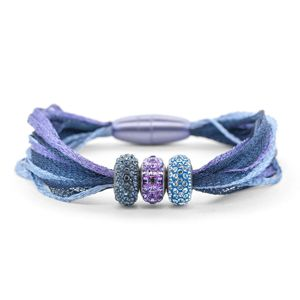 Blueberry Variation 1 Bracelet | Fusion Beads Inspiration Gallery