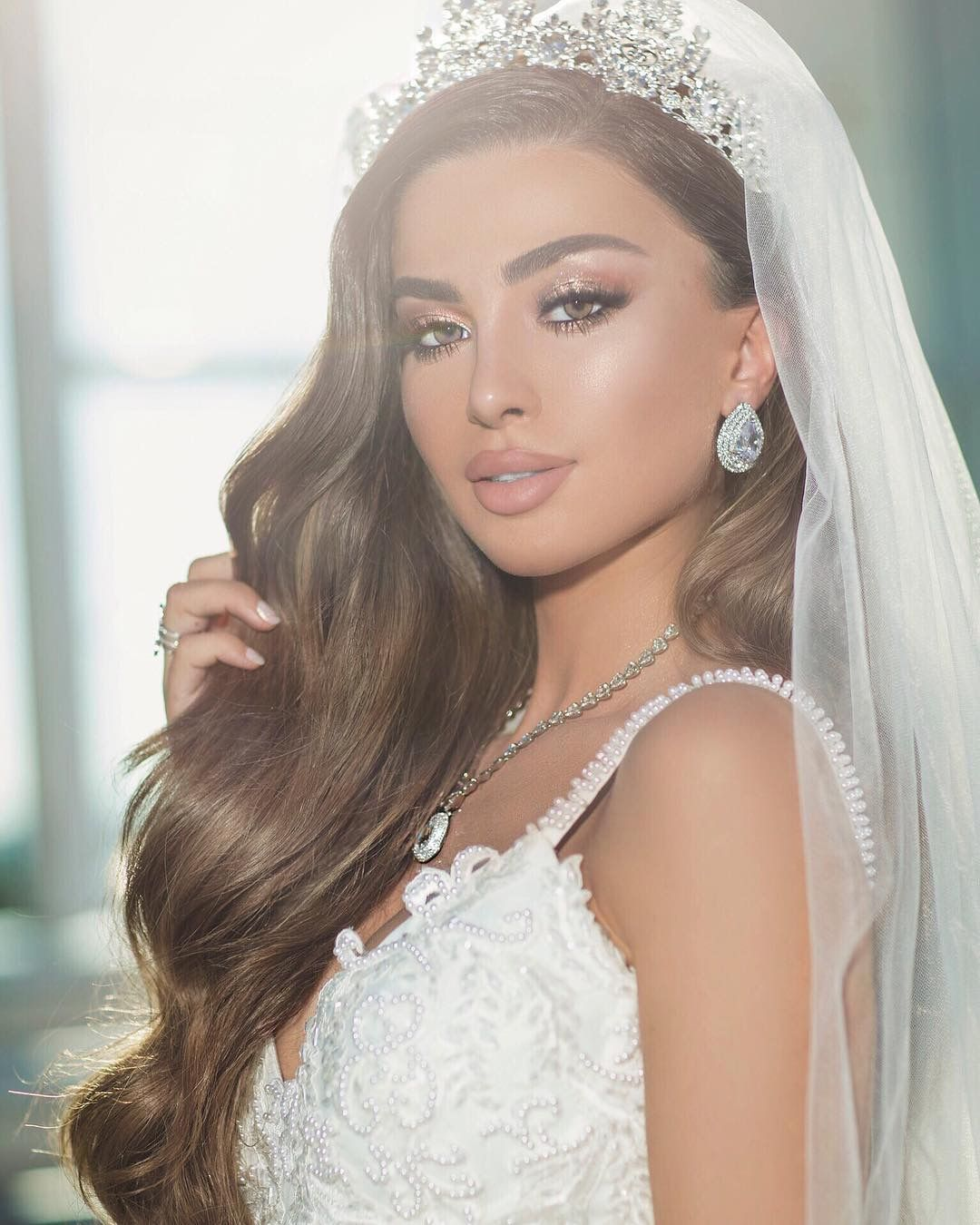 Wedding Hairstyle With Veil: Bride Hairstyles With Veil