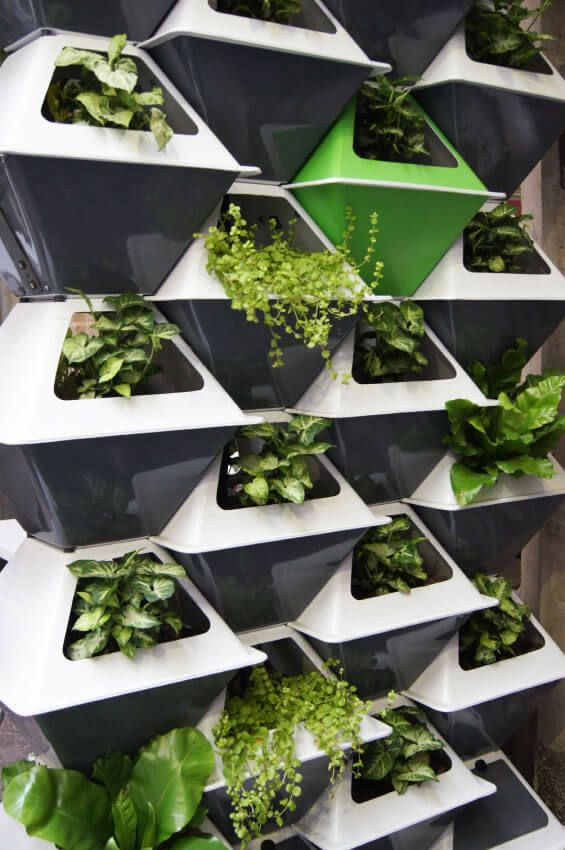 10 Vertical Garden Again, Stackable Plant Pots Are An Incredible And  Stylish Way To Utilize Space. Perfect For Small Apartments, Stacking Your  Plants In ...