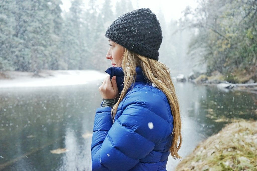 Bundling up for winter with Lucy activewear