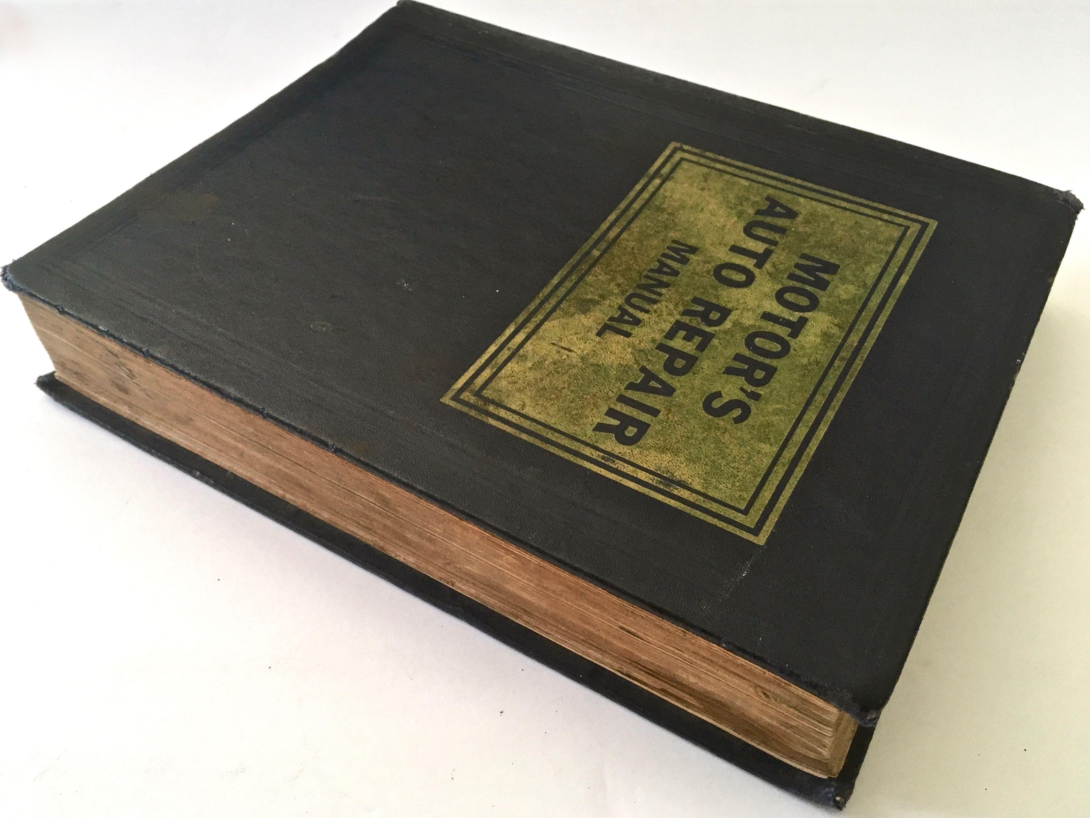 Motors Auto Repair Manual 22nd Ed 1952 59 3rd Printing Auto Repair Manual Repair Manuals Repair