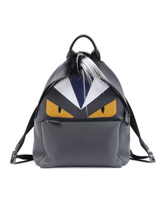 a159af025e4 Monster Backpack with Fur Crest by Fendi at Neiman Marcus.   MY ...