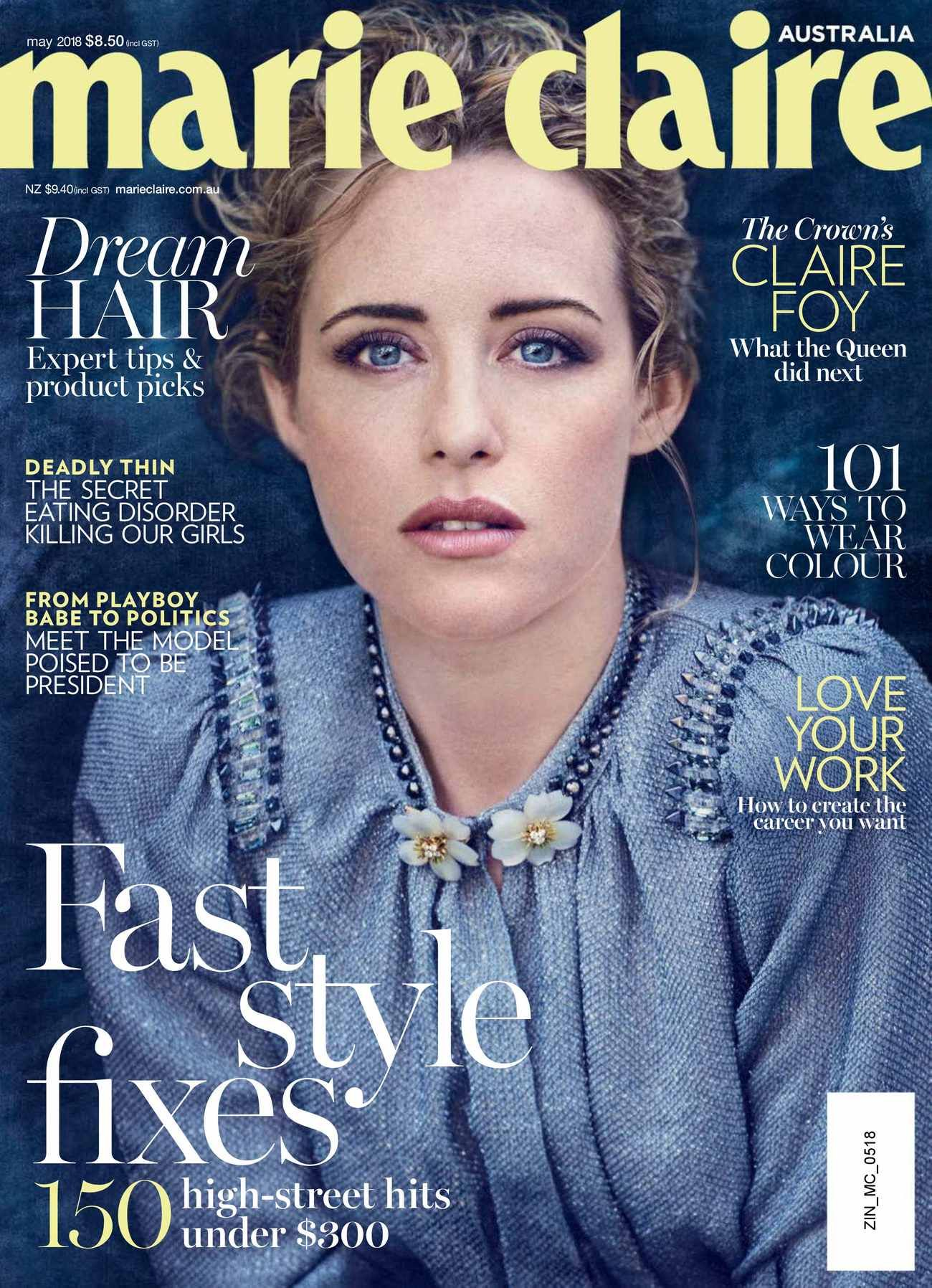 Claire Foy Town & Country Philippines April