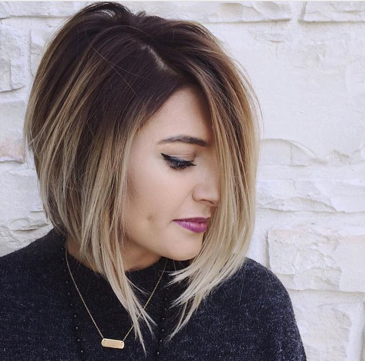 balayage/ombre on short hair … | pinteres…