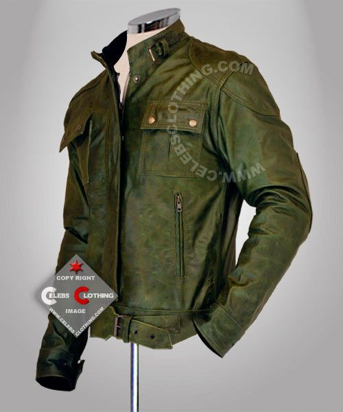 wanted wesley gibson leather jacket | MEN | Pinterest | Green ...