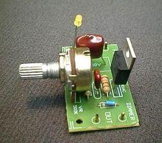 circuito regulador de velocidad del motor de CA basada