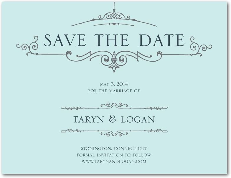 Save the date idea Tailored Banner