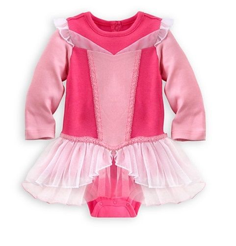 92d0ff501cd71 Disney Store Aurora Sleeping Beauty Baby Costume Size 3-6 6-9 9-12 18-24  Months