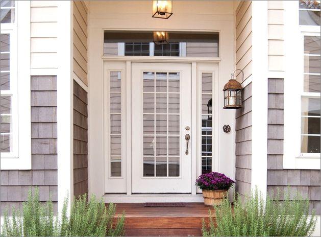 Recessed Door Front Entrance
