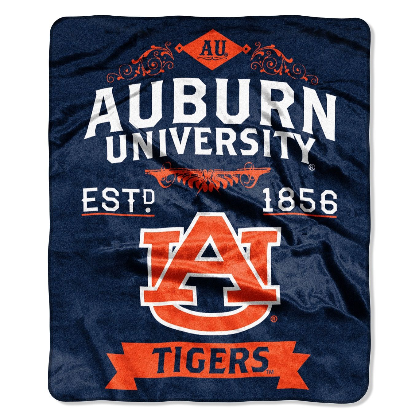 auburn tigers | Auburn Tigers College Label Raschel Throw Blanket