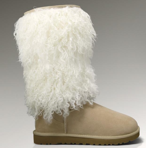 0dfd49cebf7 UGG Sheepskin Cuff Tall 3166 Boots Sand http://www.pickmybestboots ...