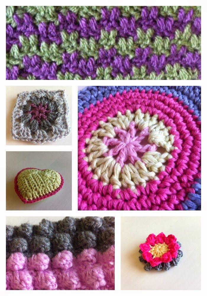 Sweetpea Family Yarn Along Crochet Samples Crochet