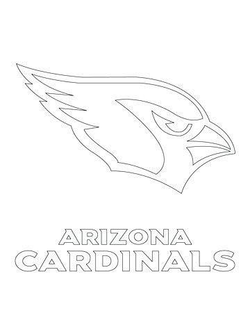 Arizona Cardinals Coloring Pages Az Cardinals Coloring Pages At Getdrawings In 2020 Arizona Cardinals Arizona Cardinals Logo Sports Coloring Pages