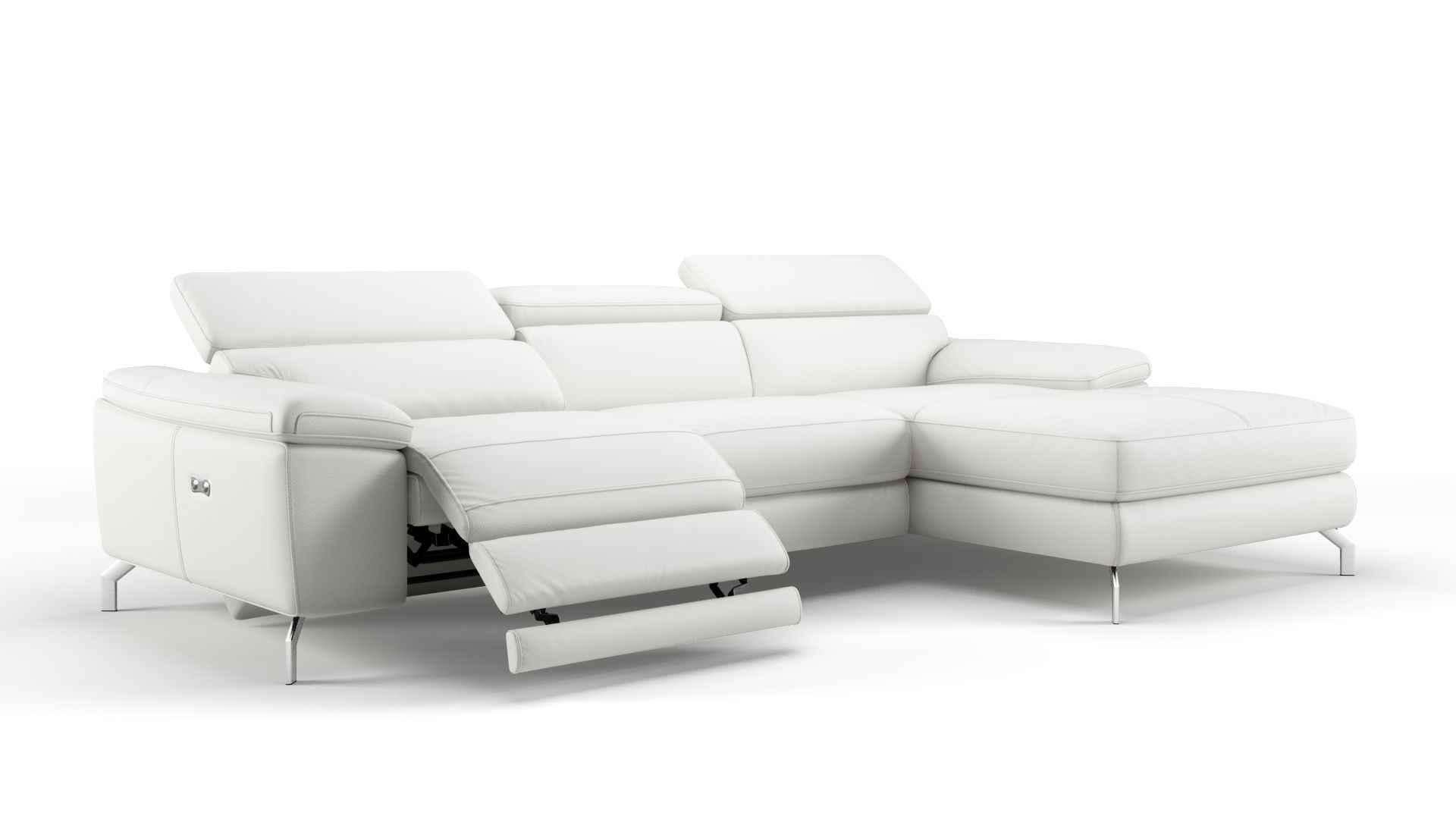 Sofa Mit Relaxfunktion Ledersofa Salento Ecksofa Mit Relaxfunktion Sofanella Stan
