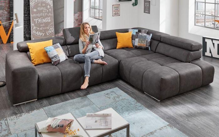Mondo wohnzimmer ~ Wohnlandschaft filo in anthrazit sofa fa fa faa fa pinterest