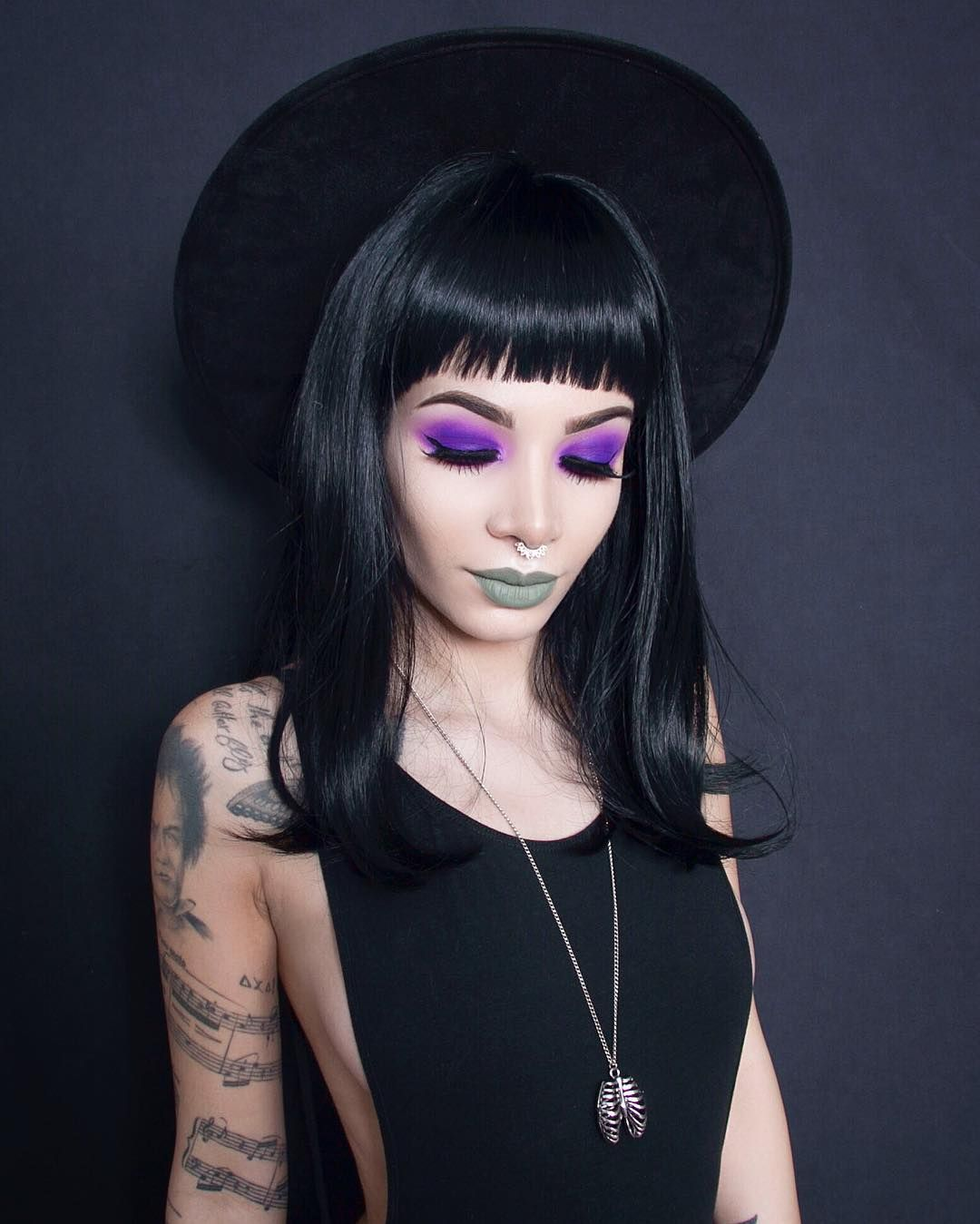 Witchy woman. Selftaught Vancouver based visual artist