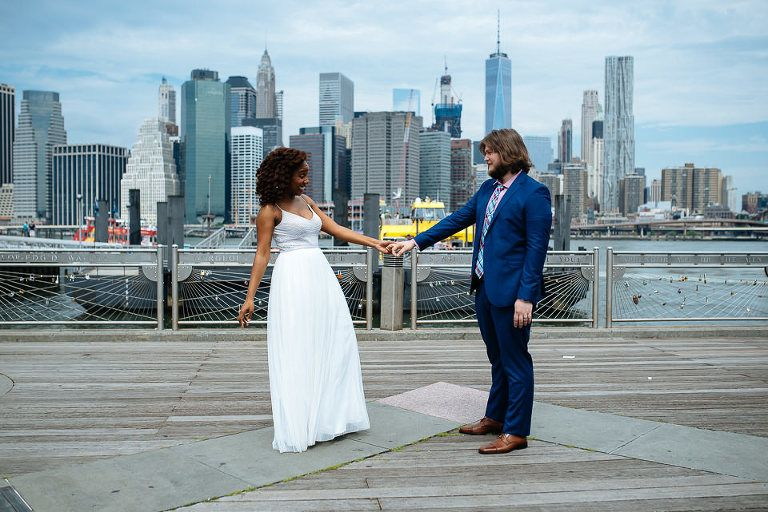 The New York City Hall Elopement Of Shaniece Daniel With Images Nyc City Hall Wedding New York City Hall City Hall Wedding