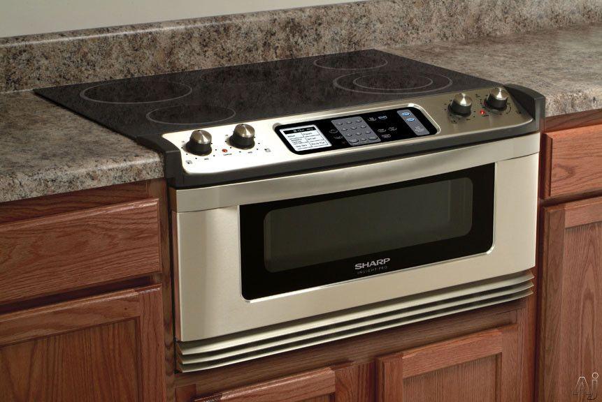 Microwave Drawer Ceramic Cooktop