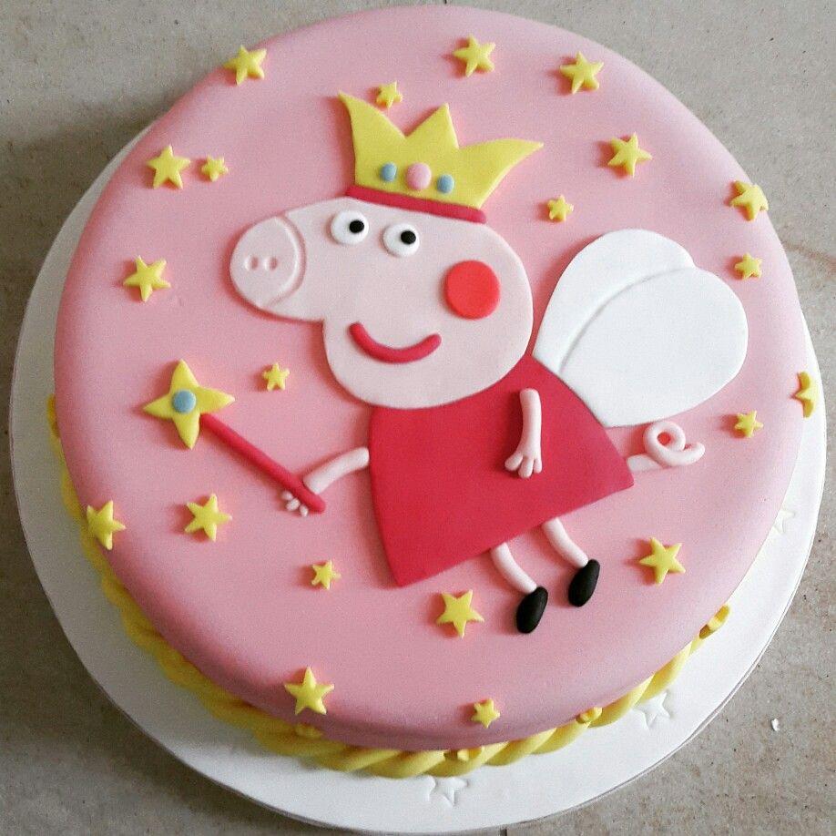 Torta de Peppa Pig #peppapig