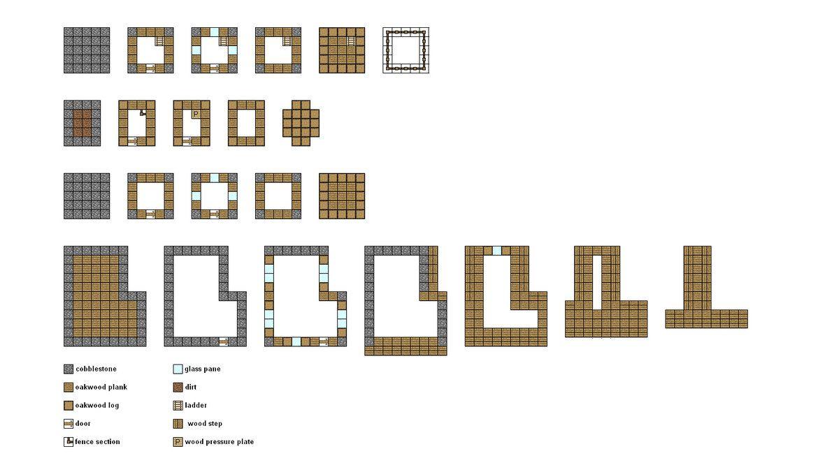 Minecraft Village Blueprints