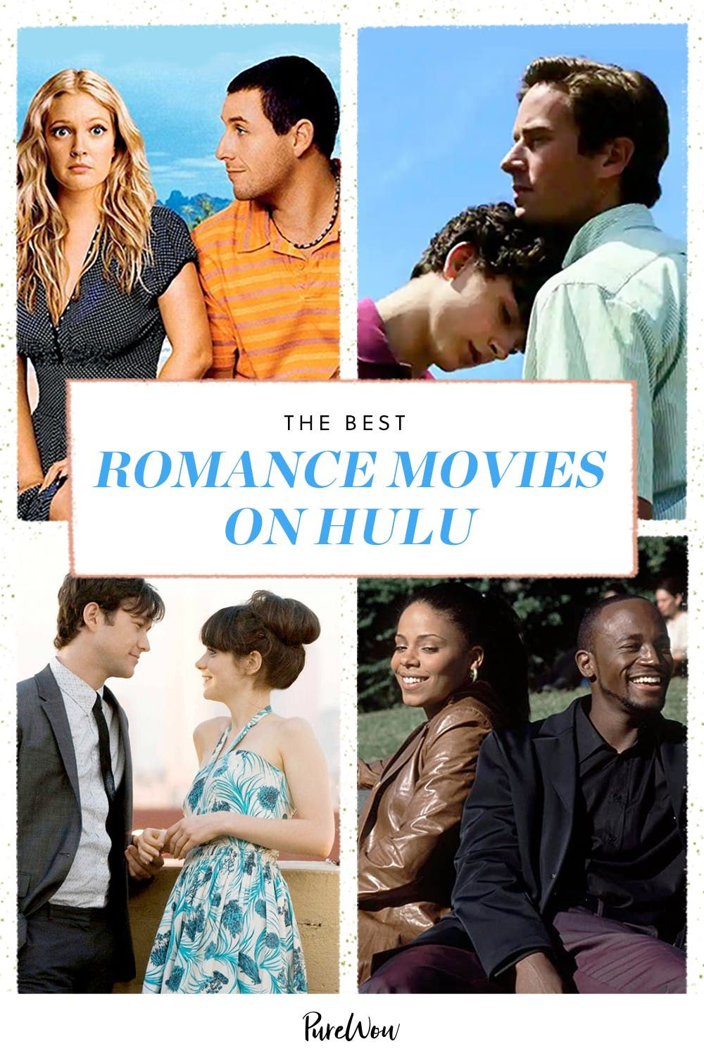 The 30 Best Romance Movies On Hulu From Palm Springs To The Wedding Planner In 2021 Romance Movies Best Romance Movies Best Romantic Movies