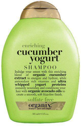 Organix Enriching Shampoo Cucumber Yogurt 13 Ounce By Organix