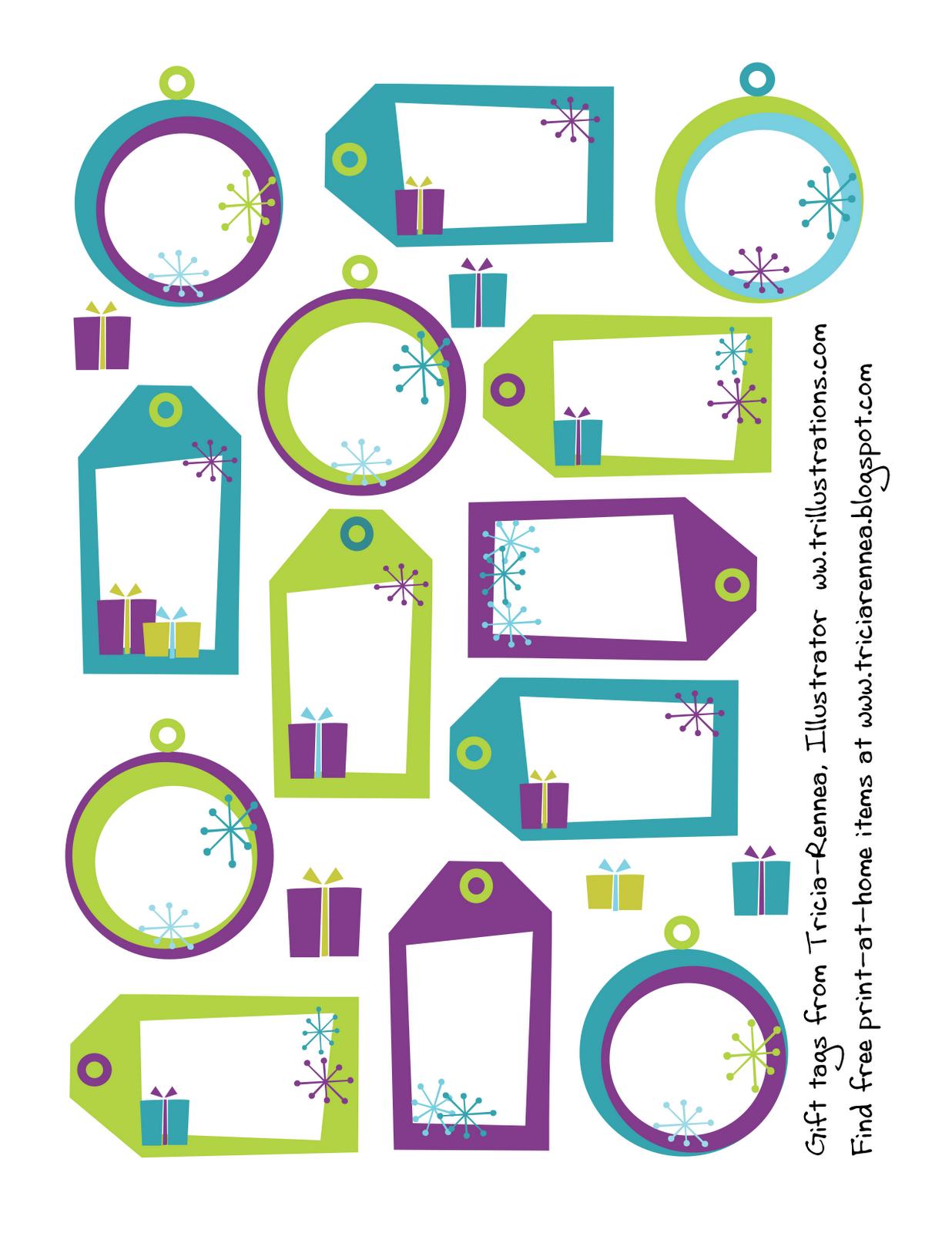 Etiquetas de navidad gratis | Imprimibles gratis | Pinterest ...