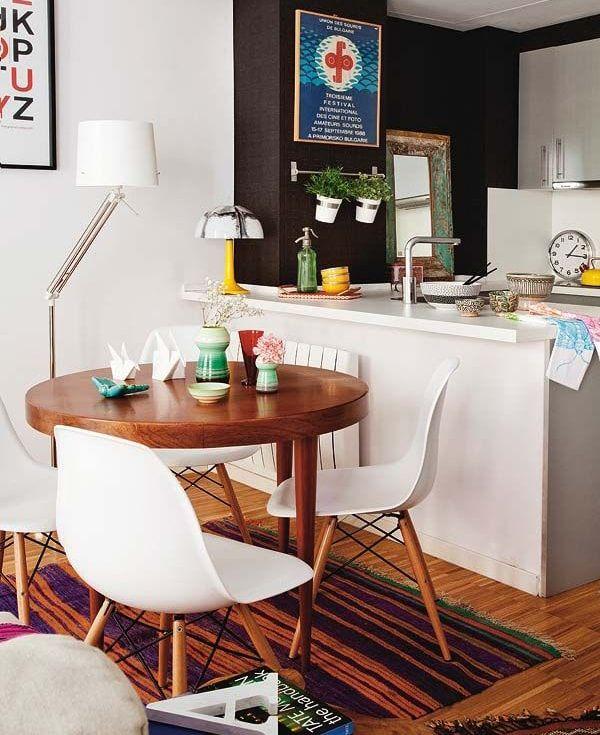 Comedores pequeños con mucho encanto | Decor for my home | Pinterest ...