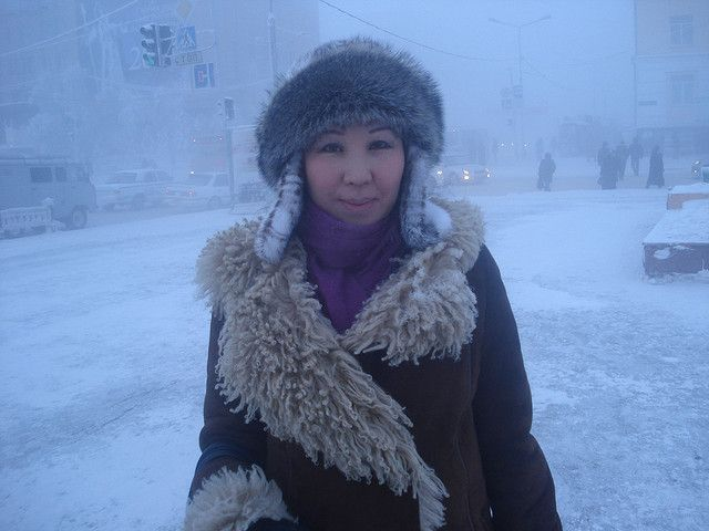 winter photos of yakutsk the coldest city in russia and the world. Black Bedroom Furniture Sets. Home Design Ideas