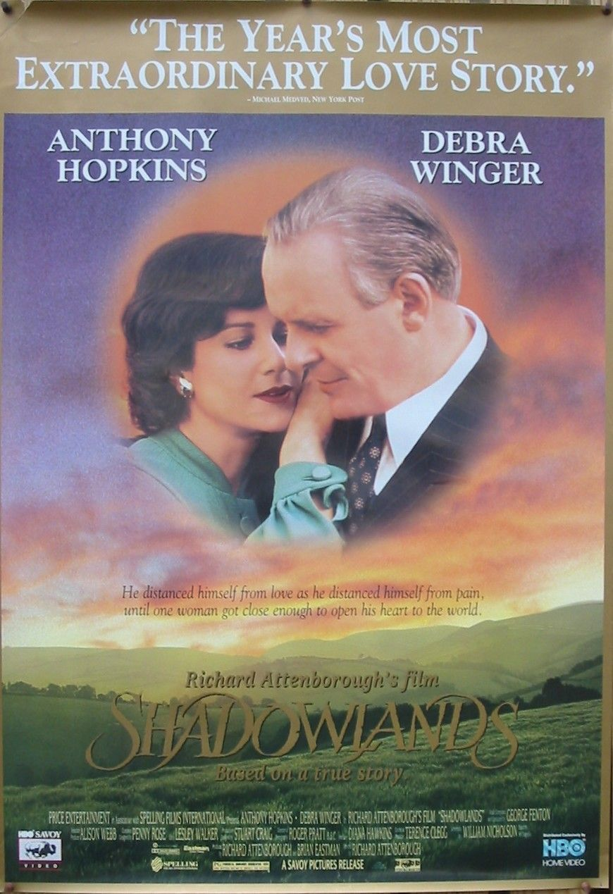 Shadowlands Christian Movie, Christian Film, DVD Anthony