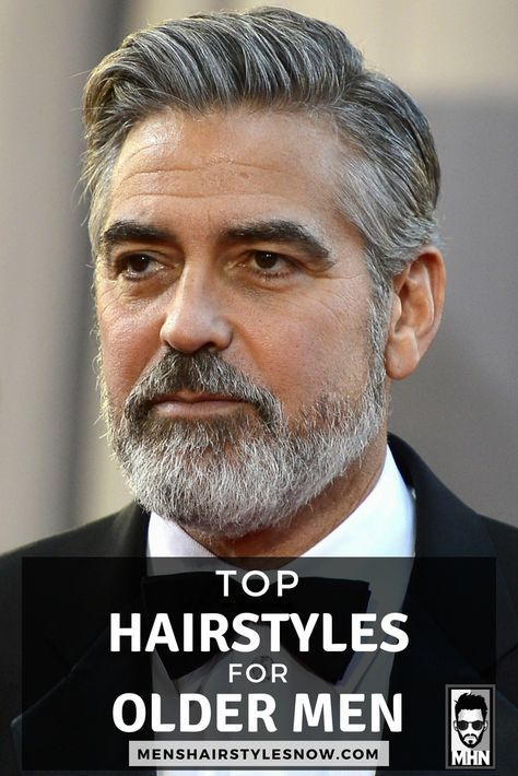 27 Best Hairstyles For Older Men (2020 Guide)