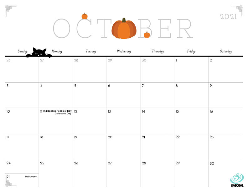 2020 and 2021 Cute Printable Calendars for Moms - iMom ...