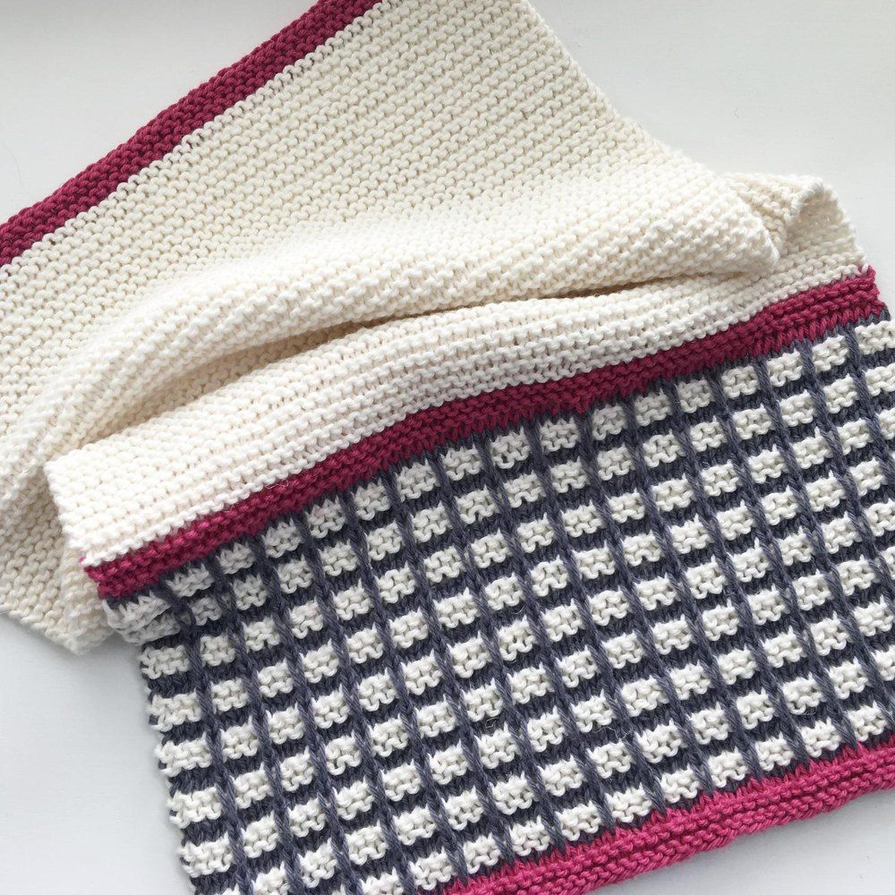 Delia Dish Towel / Hand Towel Knitting pattern by Cluck ...