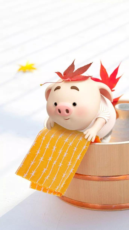 188张锦鲤猪壁纸,请查收!