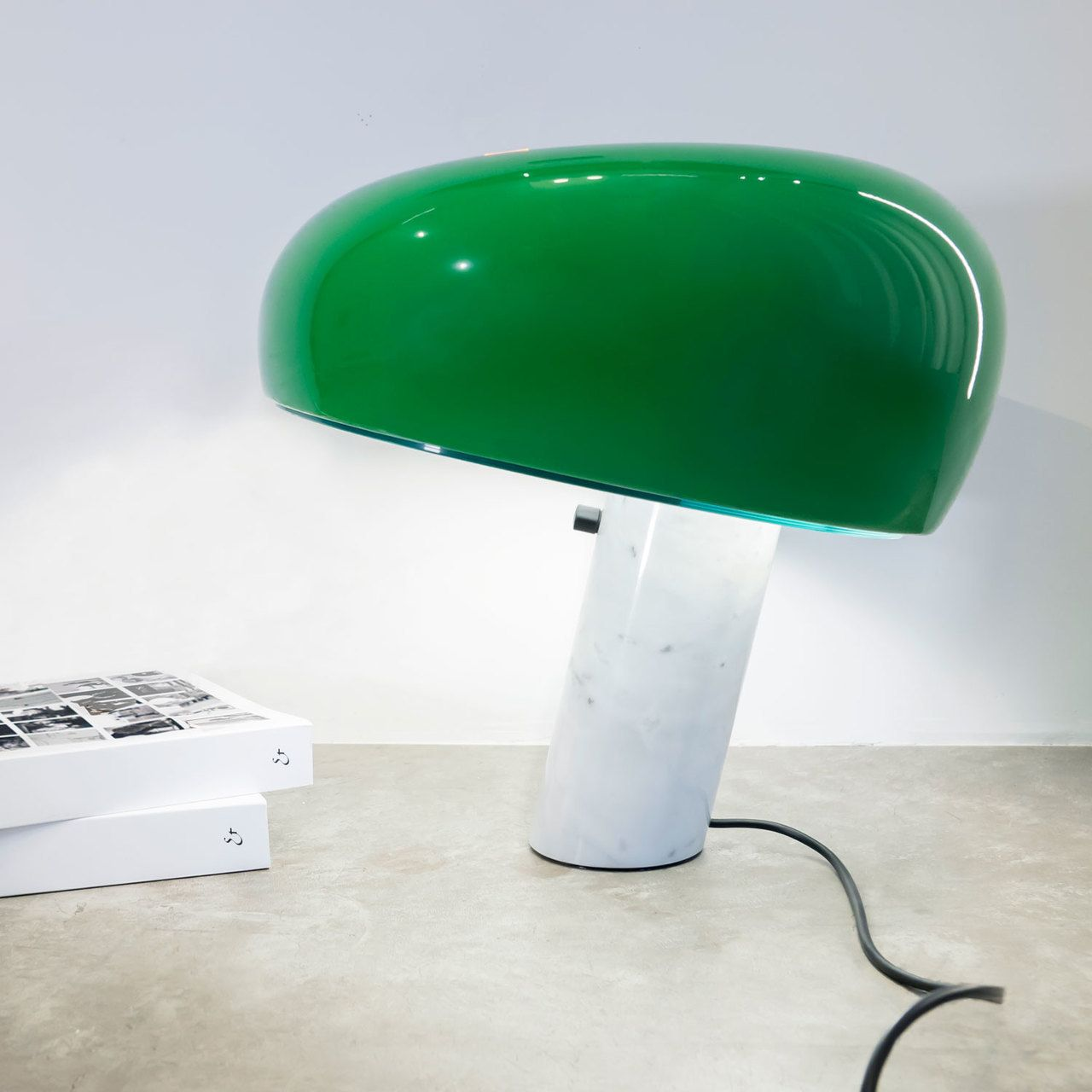 Snoopy Green Marble Base Table Lamp Green Table Lamp Lamp Green Lamp