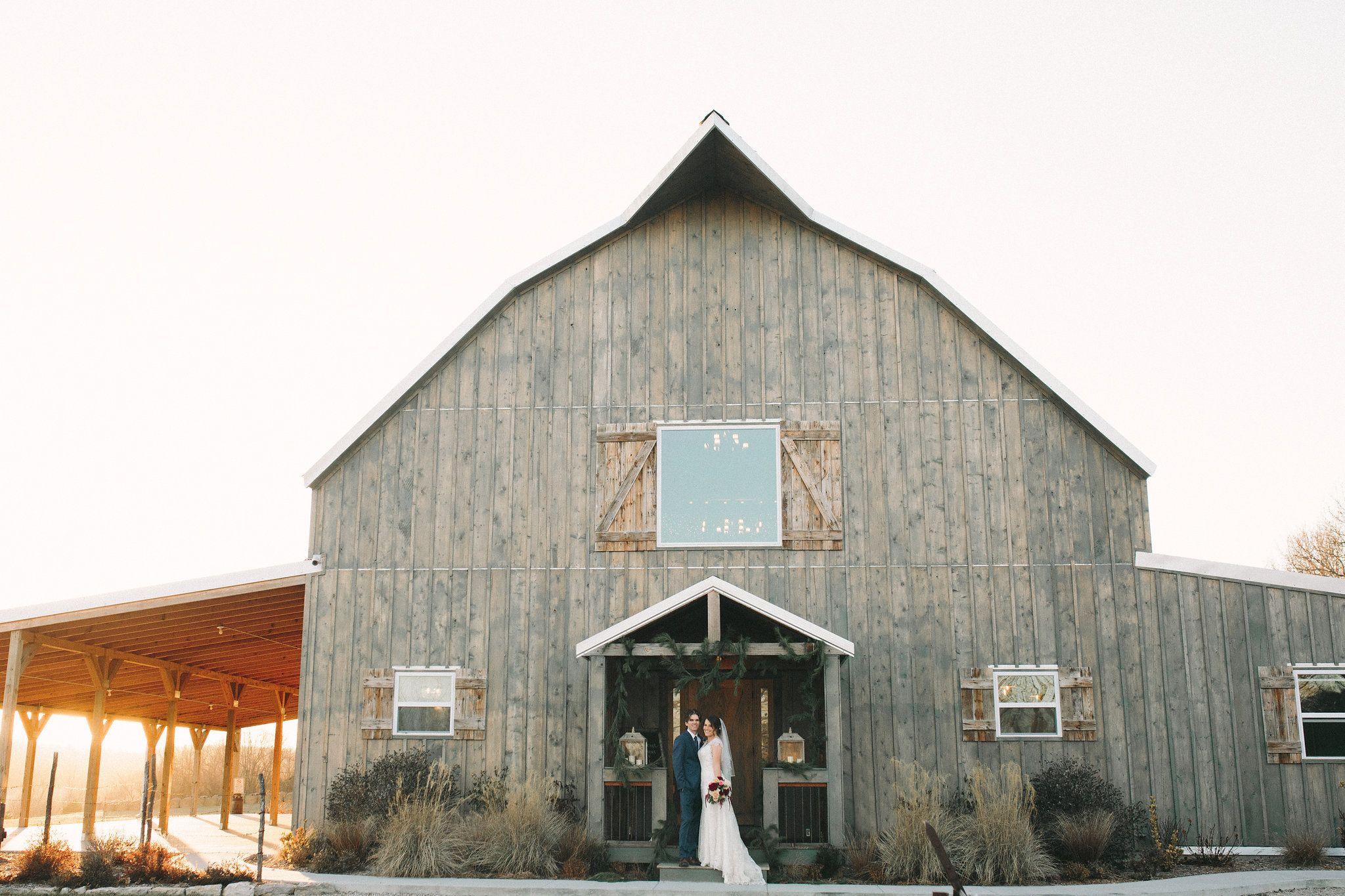 Art deco wedding gambrel barn verona missouri photos by